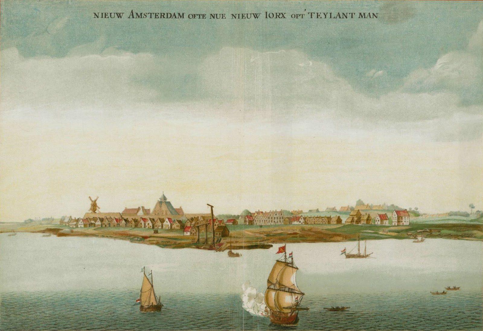 Nieuw Amsterdam 15e eeuw